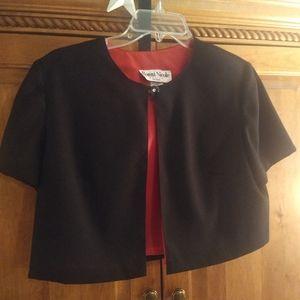 Evening Bolero style jacket